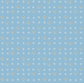 Chicks & Eggs fabric by gracemellow on Spoonflower - custom fabric