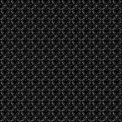 Tufty - inverted fabric by glimmericks on Spoonflower - custom fabric