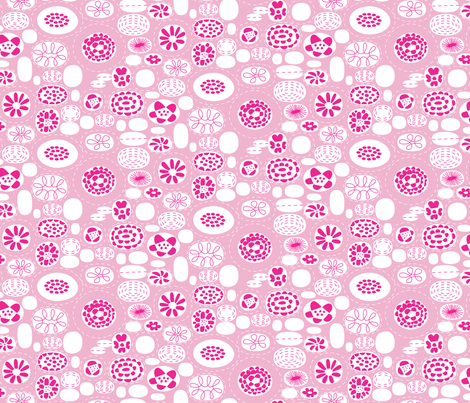 Small_Flowers fabric by gracemellow on Spoonflower - custom fabric