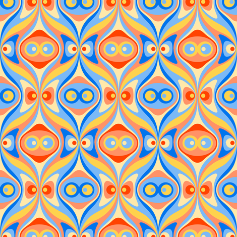 magnetic fields - solid fabric by aperiodic on Spoonflower - custom fabric