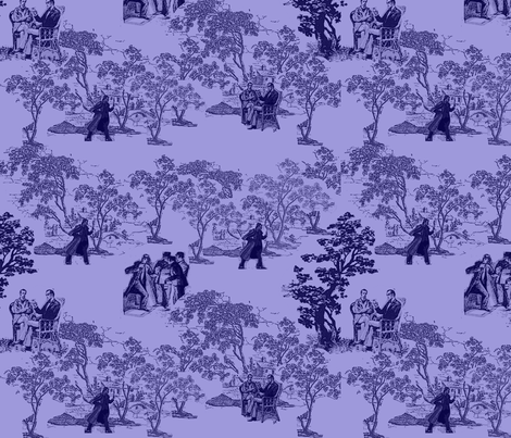 murder_mystery_toile_1 fabric by m__elizabethblair on Spoonflower - custom fabric