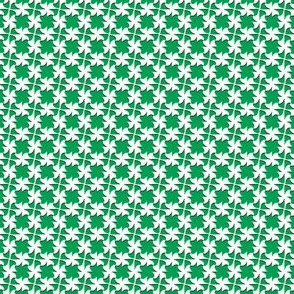 Little_Bow_White___-on_Green__