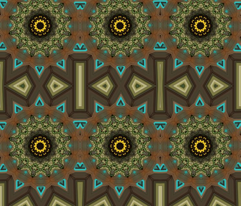 Triangle fabric by ekeskleurdesign on Spoonflower - custom fabric
