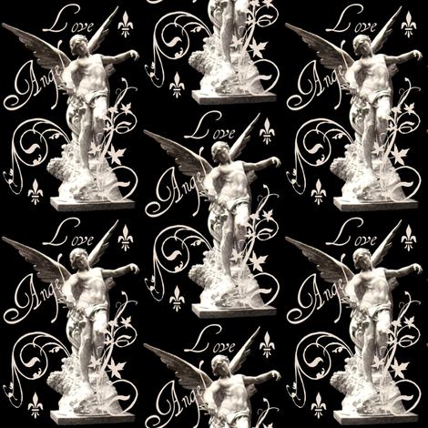 Angel Love fabric by paragonstudios on Spoonflower - custom fabric