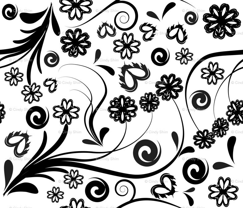 Flower Pattern Png Rrswirl Flowers Pattern