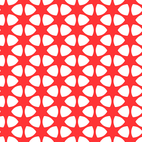 Van Asch Red fabric by stoflab on Spoonflower - custom fabric