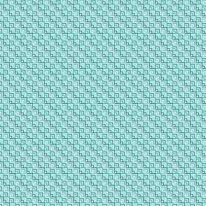 Square Peacock Blue