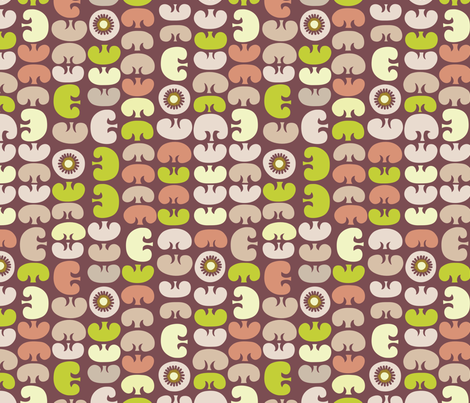 Farmstand Shrooms fabric by gracemellow on Spoonflower - custom fabric