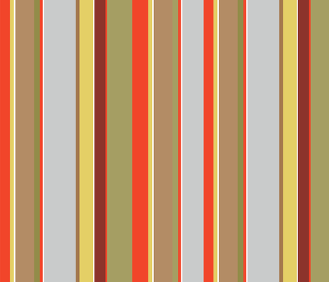 Harvest Stripe fabric by gracemellow on Spoonflower - custom fabric