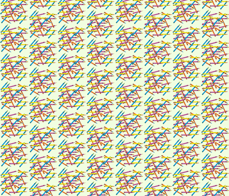 crayons fabric by krs_expressions on Spoonflower - custom fabric