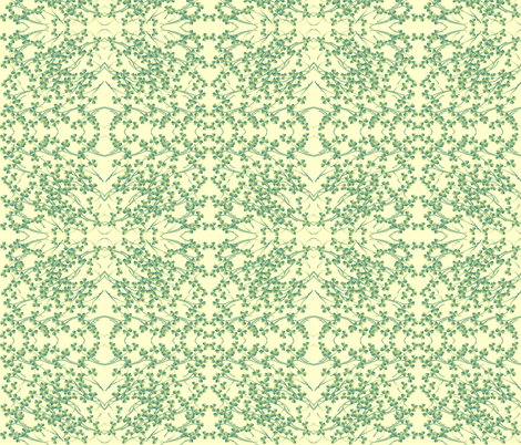 clover fabric by krs_expressions on Spoonflower - custom fabric
