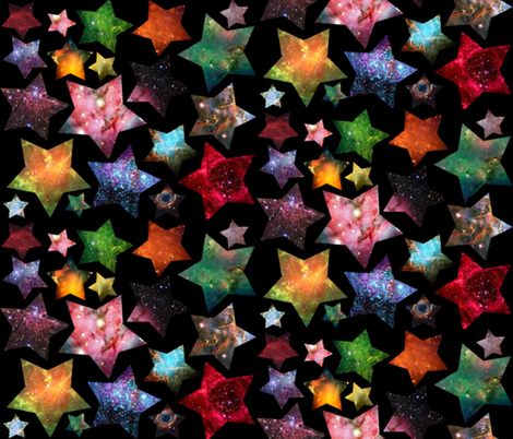 When The Stars Align fabric by graceful on Spoonflower - custom fabric