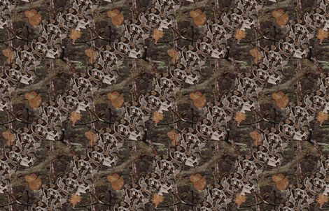 Snake-a-flage fabric by janelle_wooten on Spoonflower - custom fabric