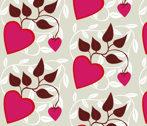heart_in_fog fabric by antoniamanda on Spoonflower - custom fabric
