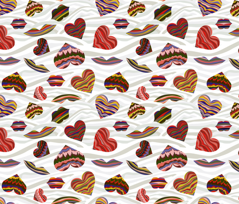 Love Adrift fabric by mag-o on Spoonflower - custom fabric