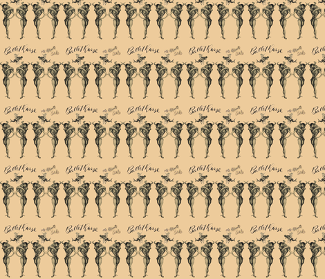 Ballet Russe fabric by shelleycowan on Spoonflower - custom fabric