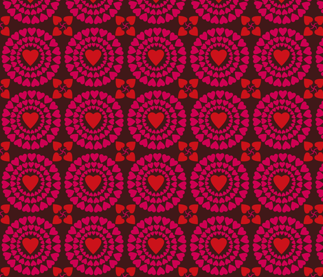 circle_of_friends fabric by antoniamanda on Spoonflower - custom fabric