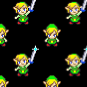 Link from The Legend of Zelda - Four Swords