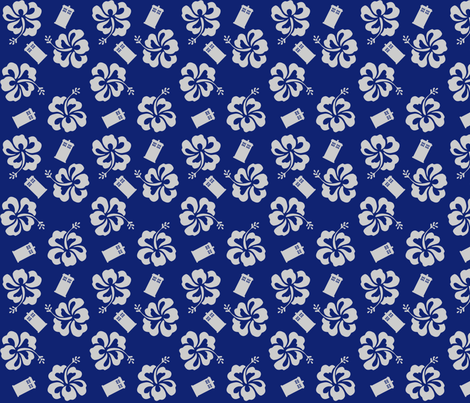 Aloha_Sweetie_1 fabric by morrigoon on Spoonflower - custom fabric