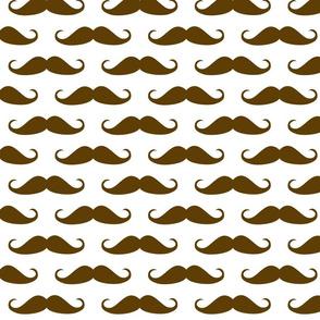 Brown Mustache