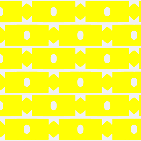 Beeninger Lemon fabric by stoflab on Spoonflower - custom fabric