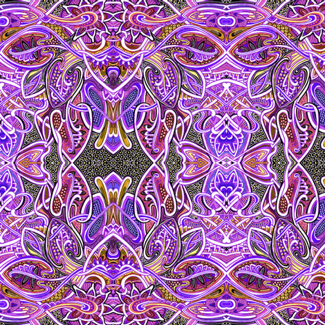 Psychedelic Haze fabric by edsel2084 on Spoonflower - custom fabric