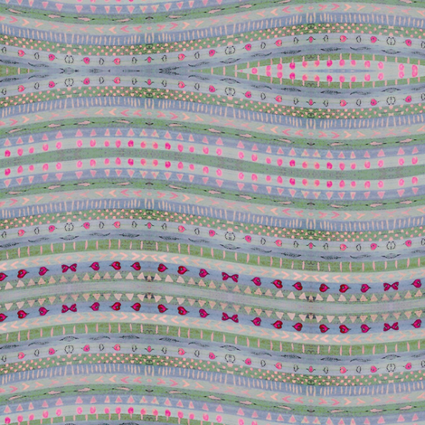 Hearts Pattern fabric by linandara on Spoonflower - custom fabric