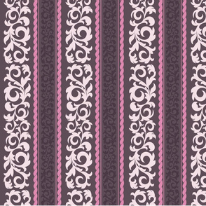 Striped Damask 2