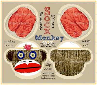 Got Brains! Sock Monkey / Adora