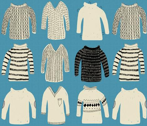 sweater fabric by mummysam on Spoonflower - custom fabric