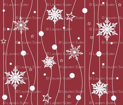 Snowflake Trails