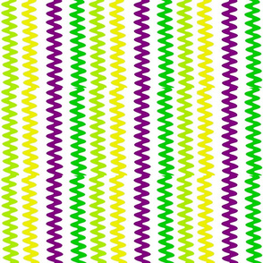 MARDI GRAS ZIG ZAG