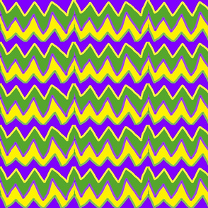MARDI GRAS JESTER CHEVRON