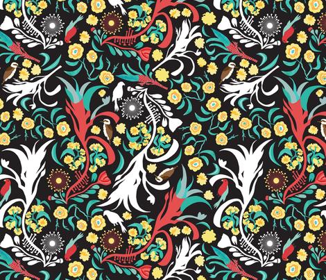 Kookaburra Camouflage  fabric by mag-o on Spoonflower - custom fabric