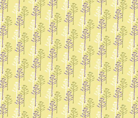 Desert Agave Stalks fabric by joyfulroots on Spoonflower - custom fabric