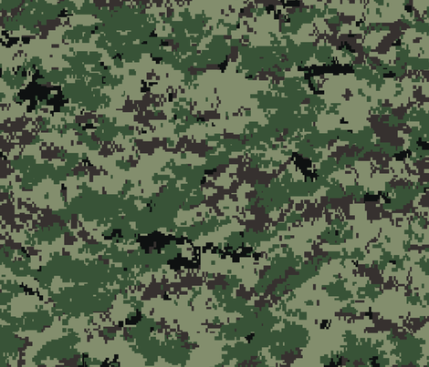 Russian SURPAT SpecOps Digital Camo fabric by ricraynor on Spoonflower - custom fabric