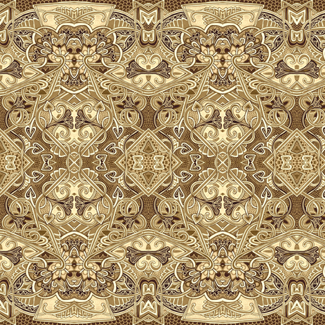 Auntie Q fabric by edsel2084 on Spoonflower - custom fabric