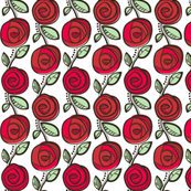 Deco Rose Red
