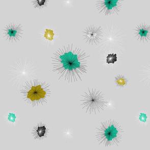 fleurs etoiles