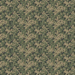 Sixth Scale Dual Tex Experimental '70s Digital Camo