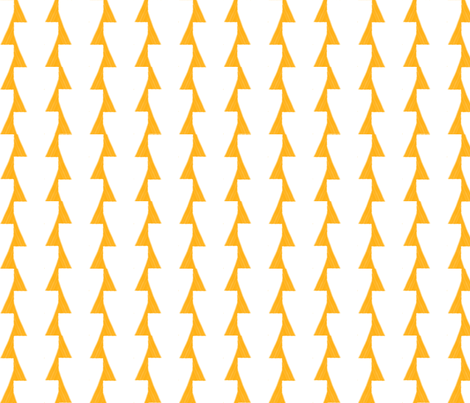 large arrows fabric by blueangora on Spoonflower - custom fabric