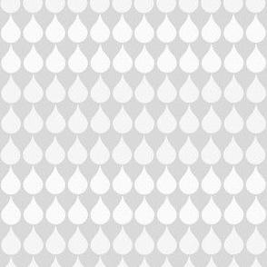 grey raindrops