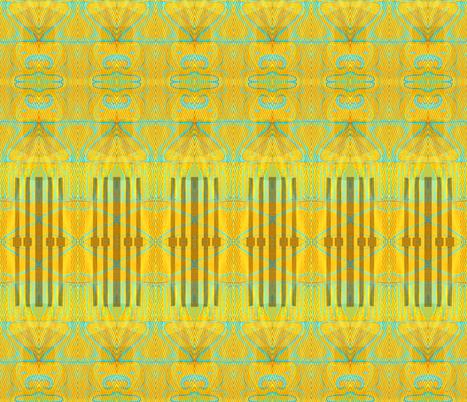 """Skyscraper bathed in Light"" fabric by elizabethvitale on Spoonflower - custom fabric"