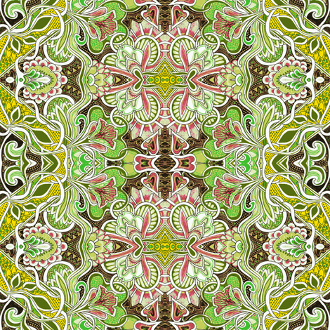The Final Weeks of Summer fabric by edsel2084 on Spoonflower - custom fabric