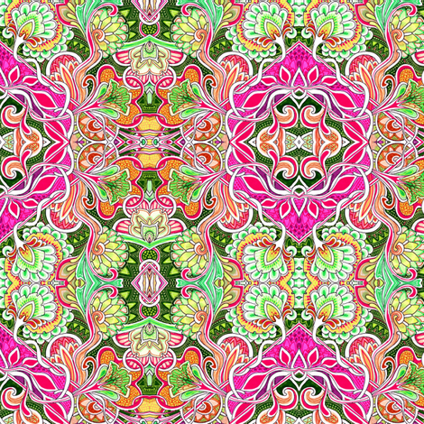 When Everything Blooms in Spring fabric by edsel2084 on Spoonflower - custom fabric