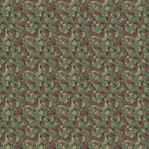 Sixth Scale British DPM Temperate Camo, Alternate Colors