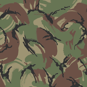 British DPM Temperate Woodland Camo, Alternate Colors
