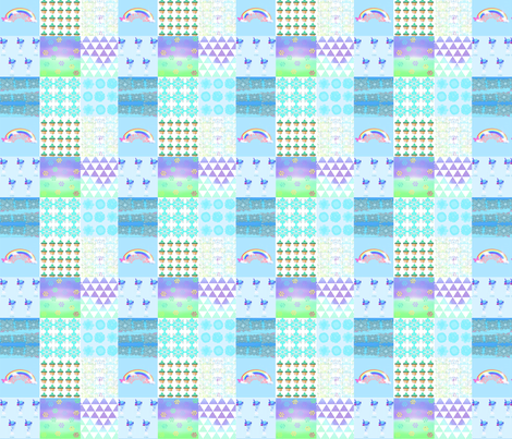 Patchwork_Cheat_for_boy fabric by heaven-lee on Spoonflower - custom fabric