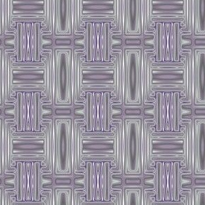 Plum Geometric 1 © Gingezel™ 2013