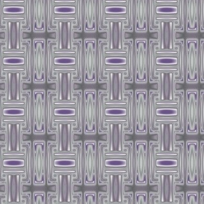 Plum Geometric 2 © Gingezel™ 2013